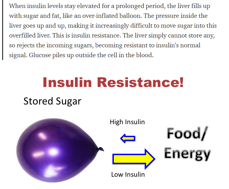 How is insulin resistance