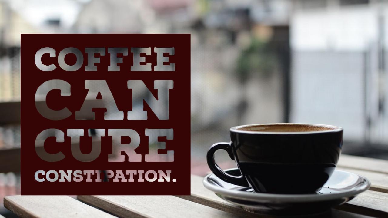 कब्ज को दूर करने के लिए घरेलू उपाय के रूप में कॉफी