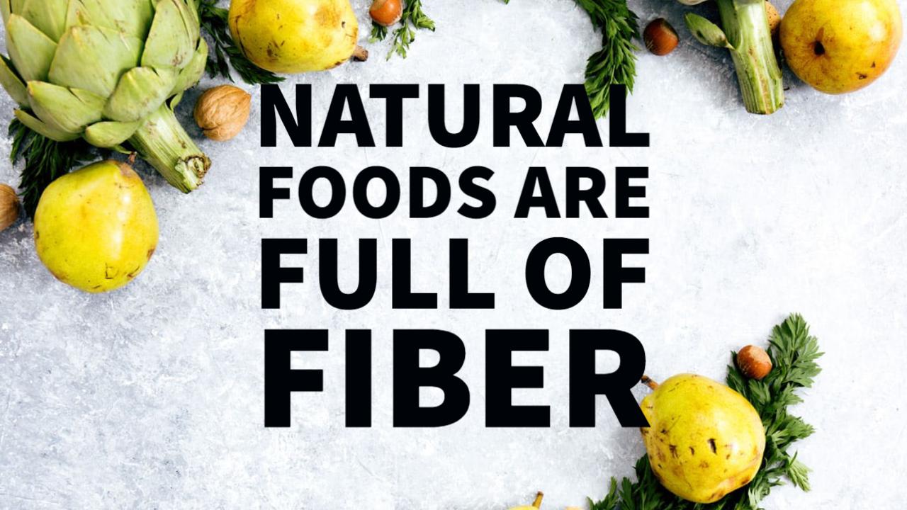 प्राकृतिक खाद्य पदार्थों से फाइबर कब्ज का इलाज