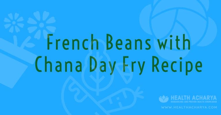 french bean chana dal fry recipe