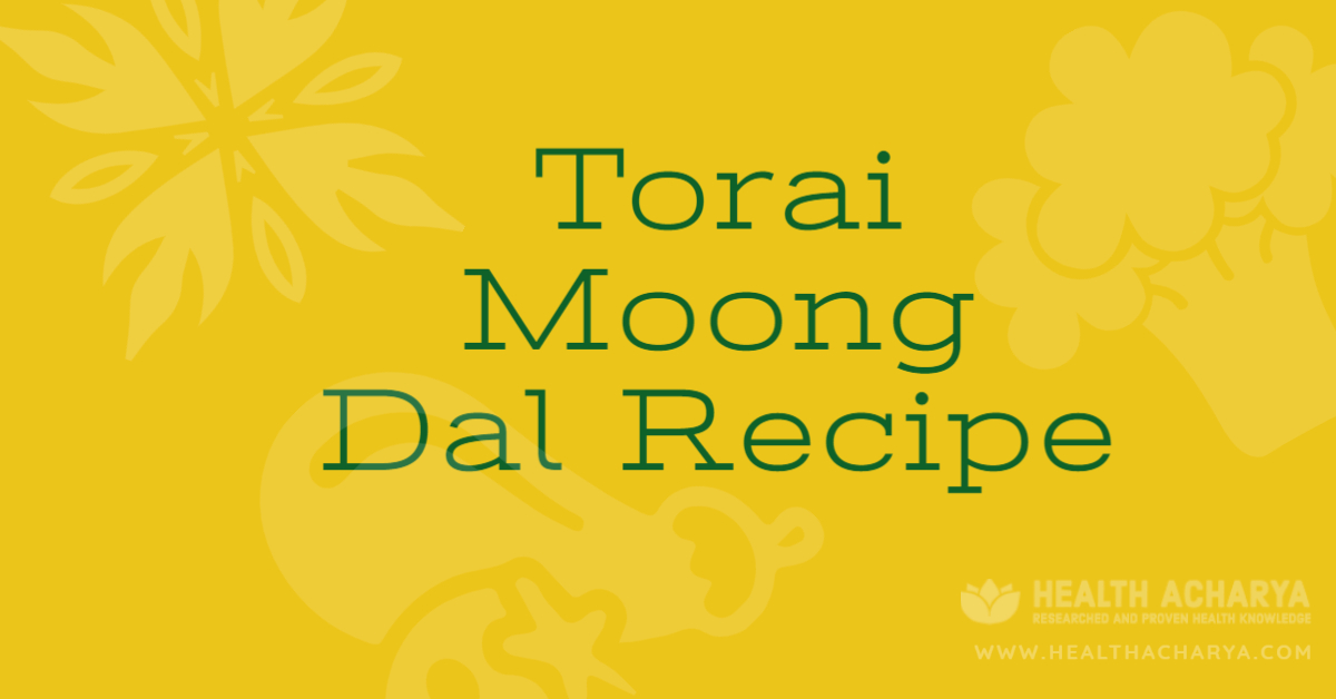 torai moong dal recipe