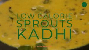 sprouts kadhi recipe